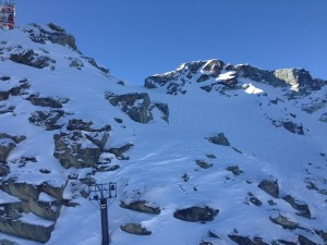 Whistler Peak looks like a Warren Miller movie