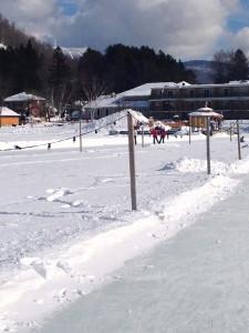 Lac Mercier rink