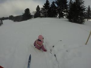 XC ski Chelsea