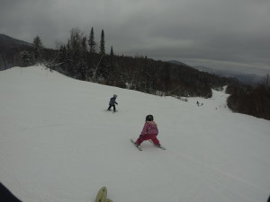 skiing Mont Tremblant