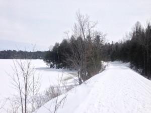Gatineau River skate ski