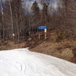True melt vs snowmaking trails